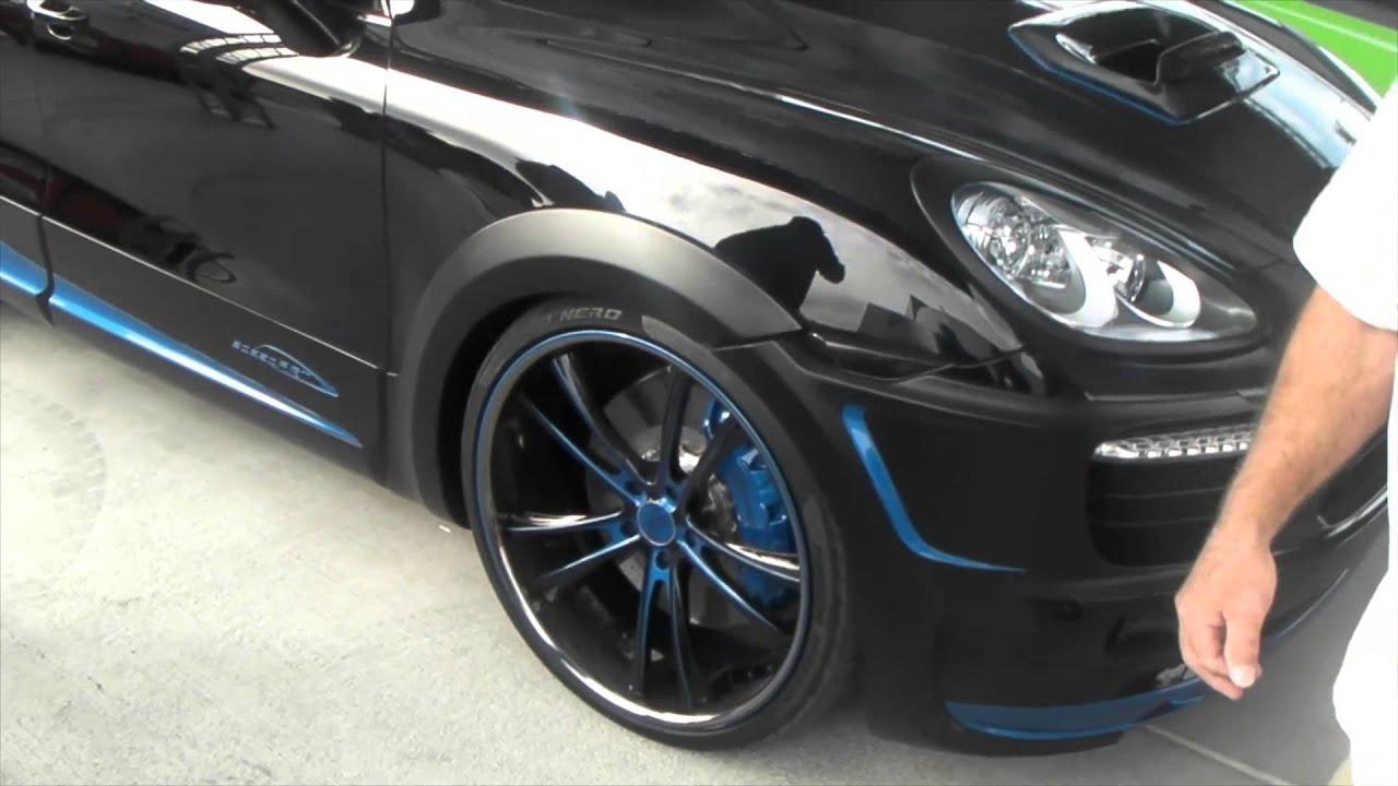 Dubsandtires Com Porsche Cayenne On 24 Inch Asanti Black