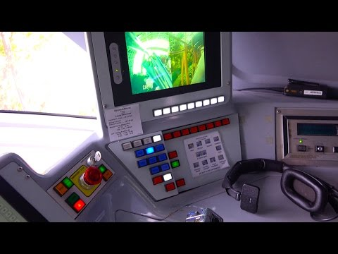[4K] Monorail Cockpit : Tomorrowland to Downtown Disney : 2014 POV - Disneyland Resort, California
