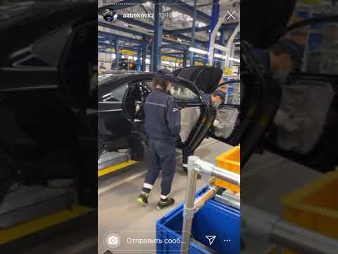 Резиновая краска NEOCHIM объект завод Hyundai Trans Kazakhst