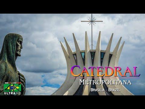 【4K】SIGHTSEEING: «Catedral Metropolitana de Brasília» | Brazil 2020 | UltraHD Travel Video