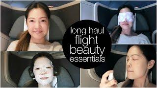My Long Haul Flight Beauty Essentials!