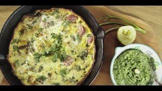 Tomasz Jakubiak poleca | Przepis na wielkanocny omlet z pieca