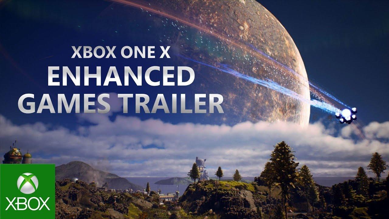 Xbox One X Enhanced - E3 2019 -  Games Trailer