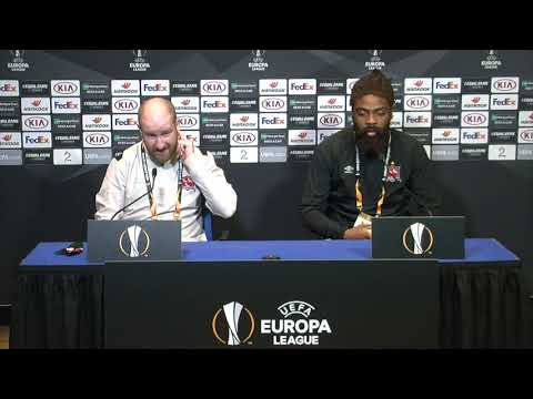 MD-1 Press Conference | Molde FK v Dundalk FC