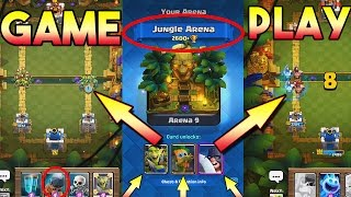 "All about JUNGLE ARENA + GAME PLAY ""Goblin Gang"" ""Dart Goblin""""Battle Ram""""Executioner