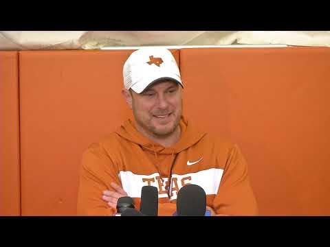 The Bottom Line - Texas Football Coach Tom Herman On Week 1 Of Spring Football