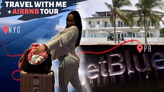 Gambar cover TRAVEL WITH ME: JFK AIRPORT VLOG + PUERTO RICO AIRBNB TOUR