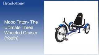 Mobo Triton- The Ultimate Three Wheeled Cruiser (Youth)