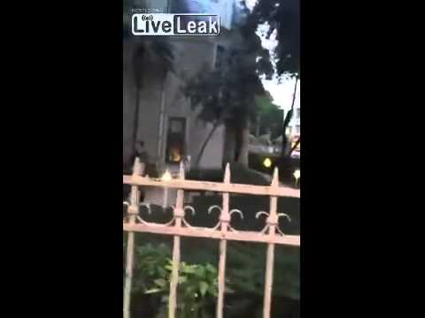 A Turkish Muslim Tried to Burn A Greek Church (Hagia Triada) in Istanbul