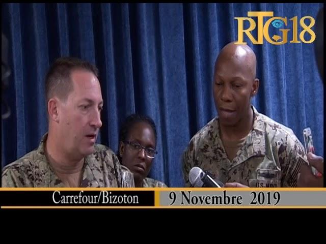 Haïti / Santé.- Le navire-hôpital de la Marine des États-Unis USNS COMFORT