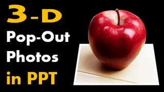 How to Make 3D Pop-out Photos in PowerPoint - (Out of Bounds Effect Tutorial)