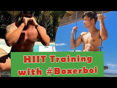 2 Minutes HIIT Training to develop your Hip, Butt and Leg| Boxerboi HIIT Training -Effective Workout