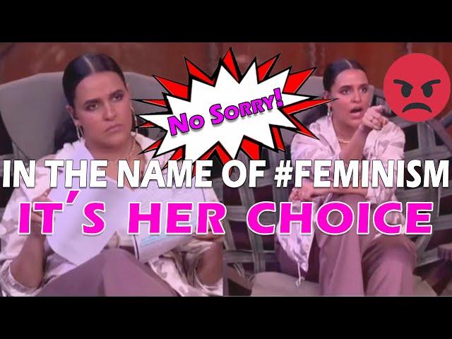 It's Her Choice | Neha Dhupia | Hypocrite and Fake Feminist? | Roadies Revolution | Reaction