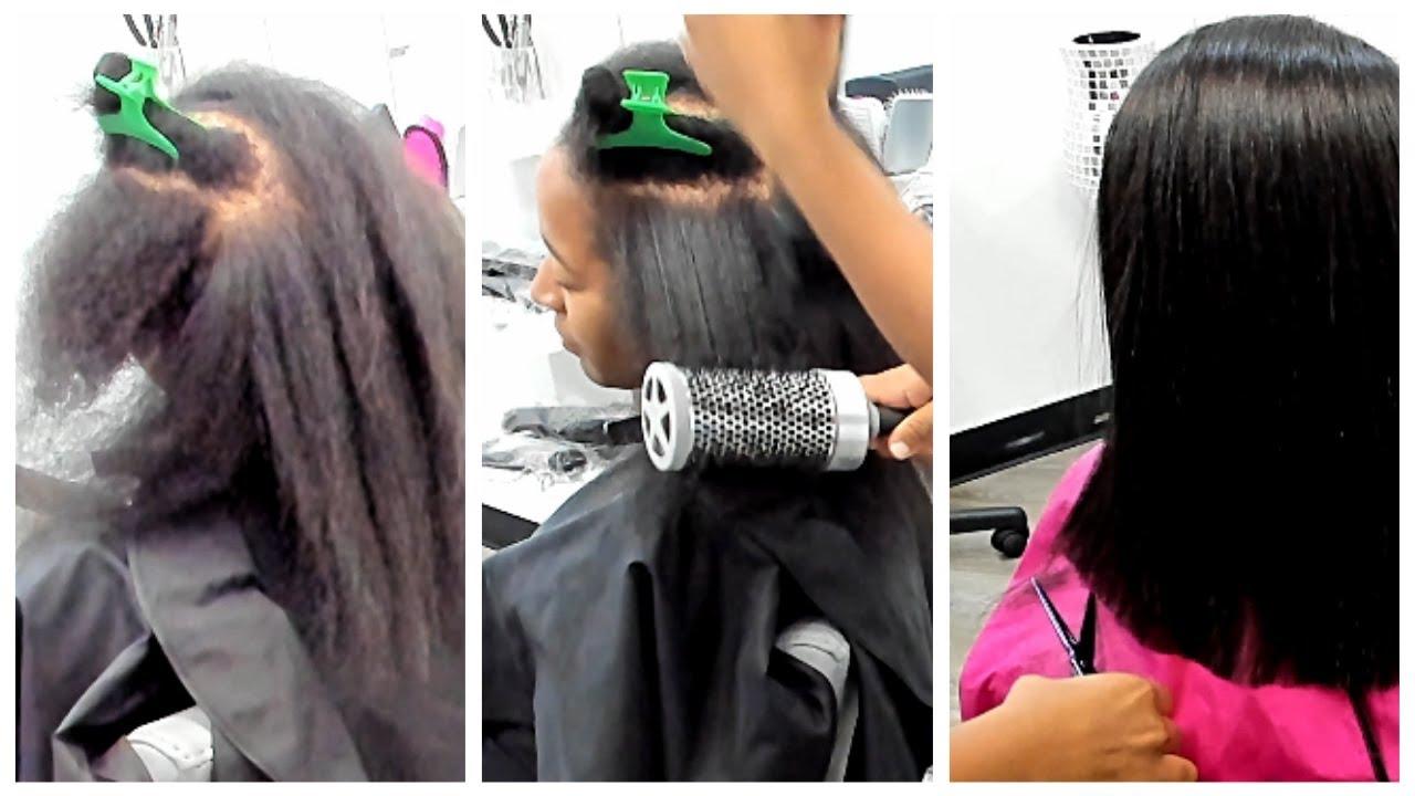 Silk Wrap On Thin Natural Hair