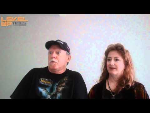 : Michael McConnohie and Melodee Spevack