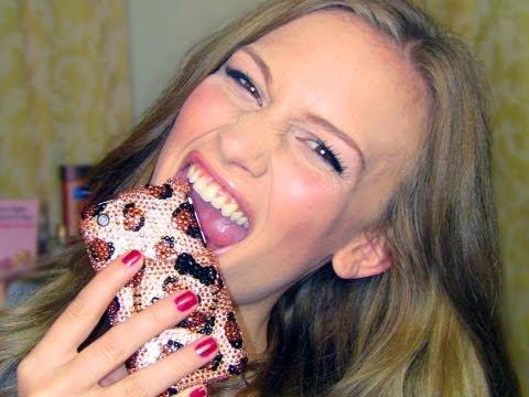 Hello Kitty Swarovski Crystal iPhone Case!