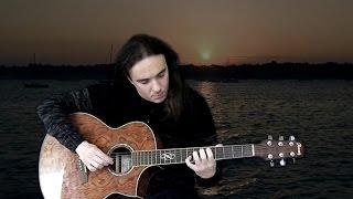 Ludovico Einaudi - Divenire (acoustic guitar version with tablature) 200th video!