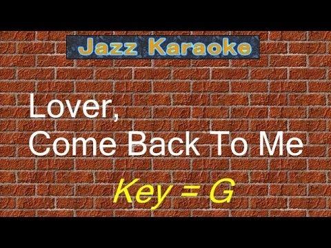 "JazzKara""Lover, Come Back To Me"" (Key=G)"