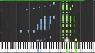Wedding Day at Troldhaugen - Edvard Grieg [Piano Tutorial] (Synthesia)