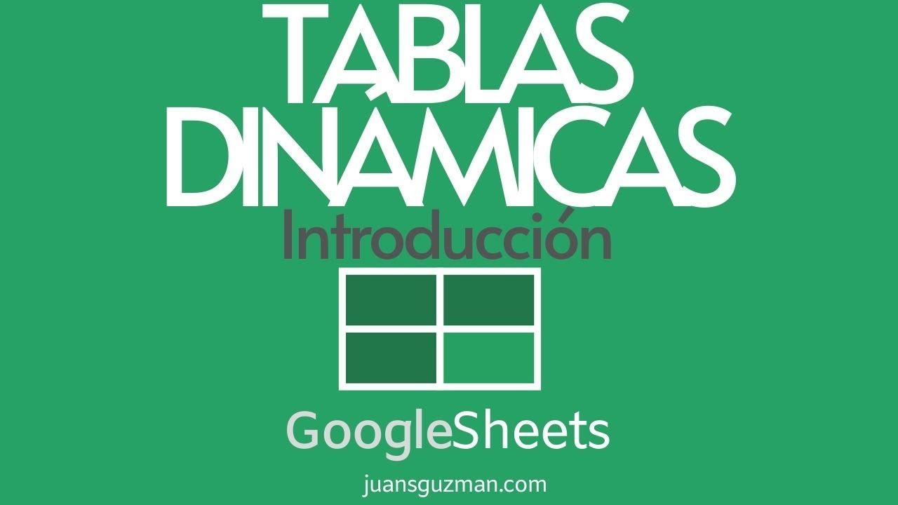 Download Crear Tablas Dinámicas en GOOGLE SHEETS - Introducción a Tablas Dinámicas