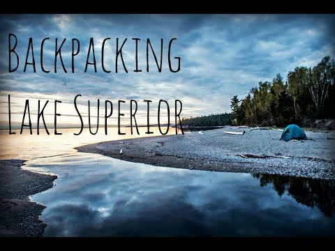 Coastal Trekking - 3 Days Backpacking Lake Superior's Rugged Coastal Trail