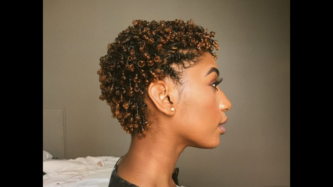 How To REFRESH Defined Curls for TWA  Curly Hair Routine