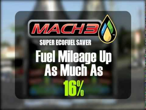 Mach3 Super Eco Fuel Saver is good for you and the environment.