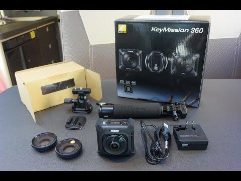 NIKONのアクションカメラ(KeyMission 360)をキャンピングカー・モーターホームに装備