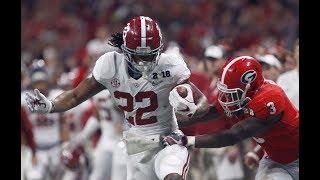 Alabama RB - Najee Harris Freshman Highlights 2017 (HD)
