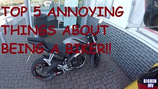 79 top 5 annoying things about being a biker on a yamaha mt 125