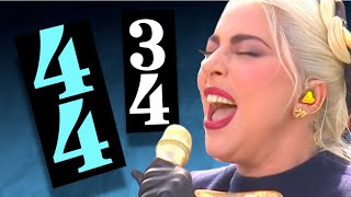 Lady Gaga's MIXED METER Star Spangled Banner?!
