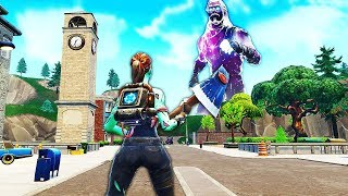 GLITCH (C) Become GÉANT on FORTNITE Battle Royale!! - (Glitch Fortnite)