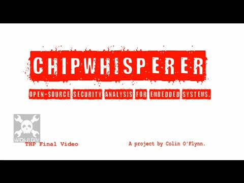 ChipWhisperer®: Security Research | Hackaday io