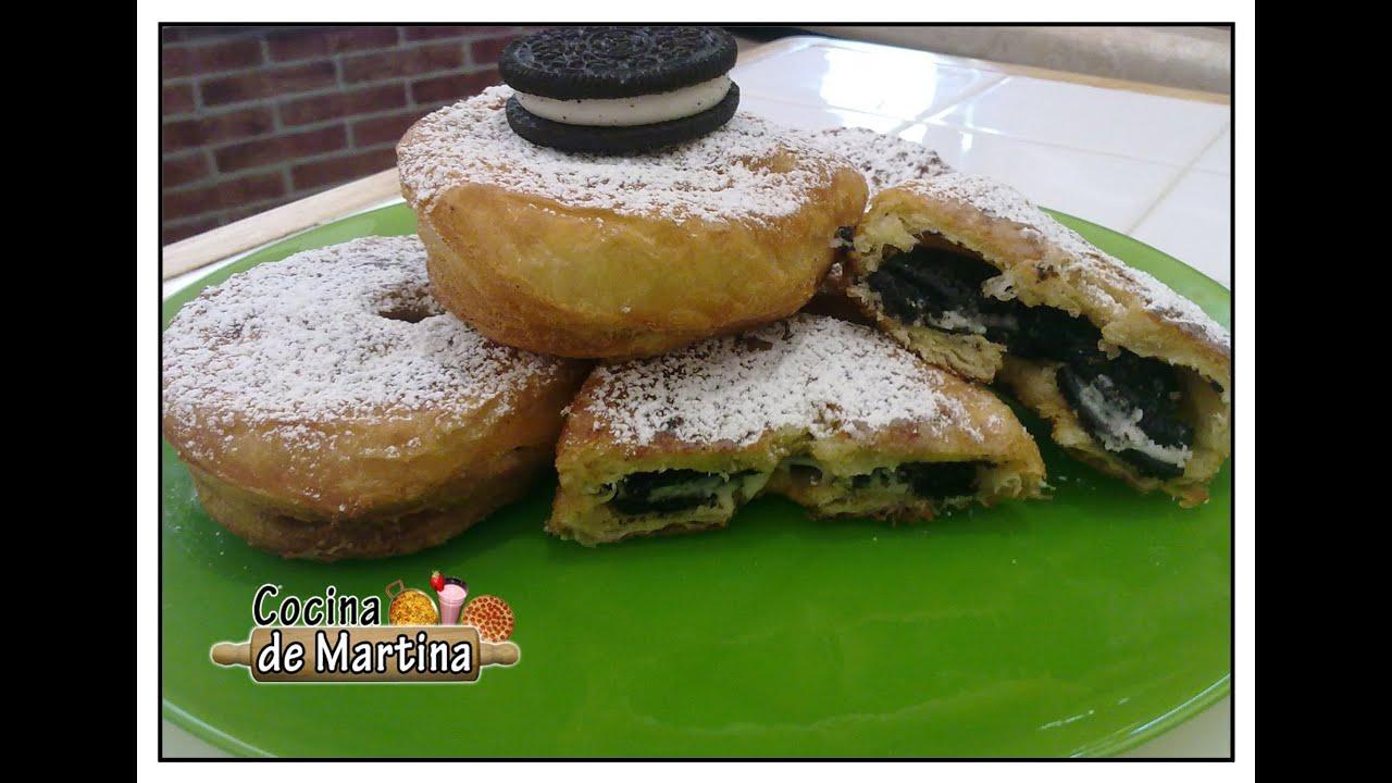 Cronuts de galletas oreo f ciles y r pidos cronut receta for Cocina de martina