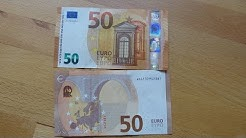 New 50 EURO banknote review! [2017]
