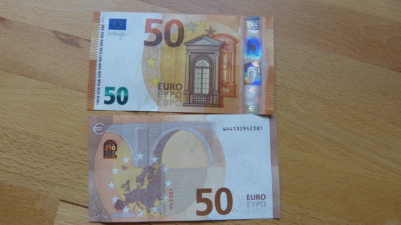 new 50 euro banknote review 2017 youtube. Black Bedroom Furniture Sets. Home Design Ideas