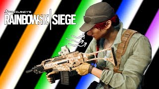 Rainbow Six Siege - Funny Moments! (Camp Fire, Drawing's, Power Sniff's & More!)