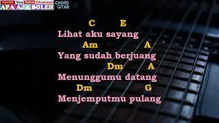 Download lagu CHORD   KUNCI GITAR   LYRIK  ANJI   MENUNGGU KAMU cover