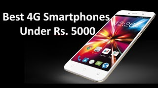 Top 5 Best Android Phones under Rs  5000 [ Latest , 4G ]