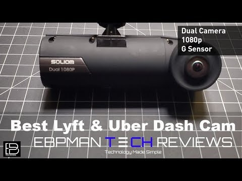Best Dash Cam For Uber, Lyft And Taxis | Capture Inside And Outside The Car | Soliom