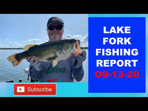Lake Fork Fishing Report 09-13-20