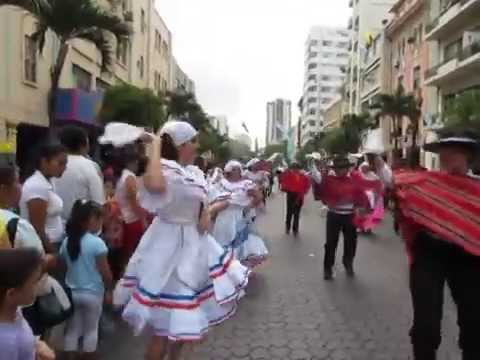 video clip - guayaquil independence day parade - october 9 - sidneysealine
