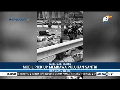 Mobil Pick Up Berisi Puluhan Santri Kecelakaan Usai Hadiri Maulid Nabi Mp3