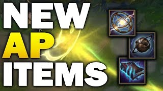NEW AP ITEMS! Massive item update and reworks coming soon (League of Legends)