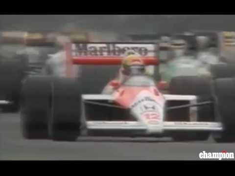Ayrton Senna bad start Suzuka 1988 Japan Grand Prix