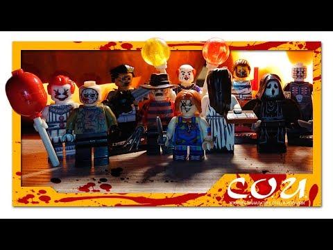 Лучшие фигурки LEGO на HALLOWEEN 2018   Pennywise, Leatherface, Saw, Chucky, Pinhead, Hannibal
