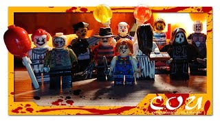 Лучшие фигурки LEGO на HALLOWEEN 2018 | Pennywise, Leatherface, Saw, Chucky, Pinhead, Hannibal