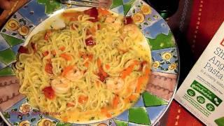 "Review - ""shrimp & Angel Hair Pasta"" Lean Cuisine *straight Talk Reviews*"