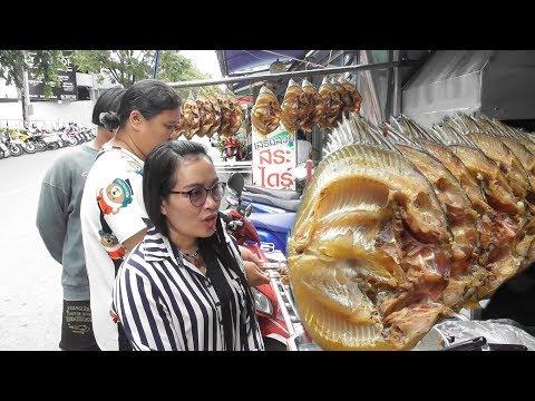 Cat Fish Masala Chat - People Enjoying Thai Street Food