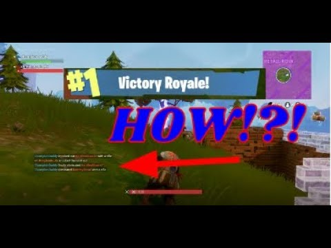 My Cousin Carried Me Duo Fortnite Win!!!